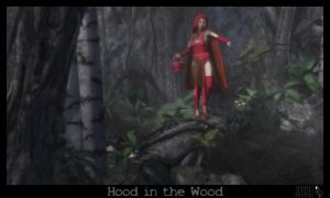 Hood in the Wood by JV-Andrew