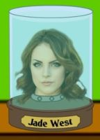 Jade West's Head. by Invader-Johnny