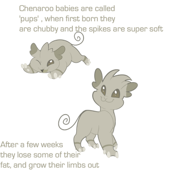 Chenaroo (Pups) guide by wittywerds
