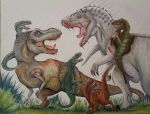 JURASSIC WORLD COLLAB by fang12348