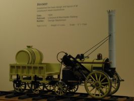 Stephenson's Rocket Scale Model by rlkitterman