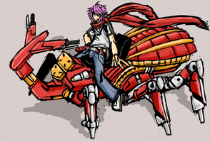 Metal Beetle Rider by Endless-warr