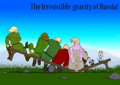 gravity of Russia by Janemin
