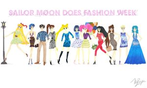 Sailor Moon and Co. Does Fashion Week by fragmentx
