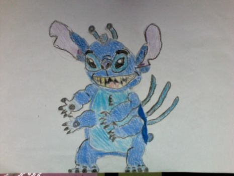 Evil Stitch by Dishwasherbum