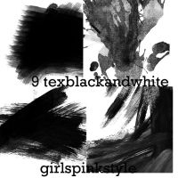 new texblackandwhite9 by GirlsPinkStyle