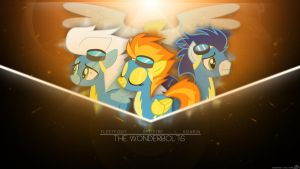 [COMISSION] Wonderbolts Wallpaper by LuGiAdriel14