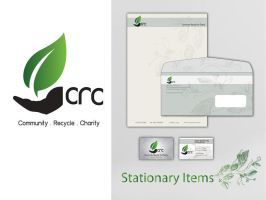 CRC Logo and Stationary Items by anjanimiranti