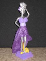 Recycled Fashion Show Trophy: Sea-born Sibelle by tinyBIG93