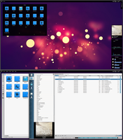 Reflexes Archlinux KDE 4.10 by printesoi