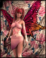 Rose Fairy by Andecaya