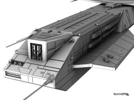 BC-304 Daedalus WIP 5 by 2753Productions