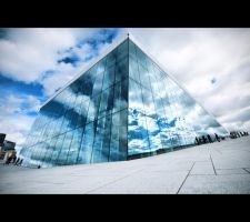 Norway Opera House by Reggaemanyo