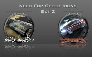 Need For Speed Icons: Set 2 by zahnib