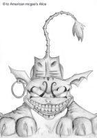american mcgee's Chesire cat by Cedecode