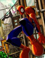 That Spider-Guy Again by herms85