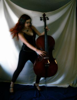 Cellos in Motion 2 by Wickedmistress777