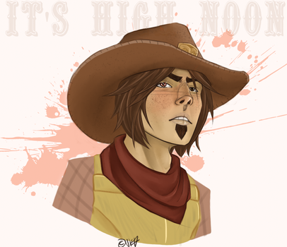 You know what time it is [McCree] by Fire-Soldier