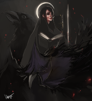 Crows by aliencake