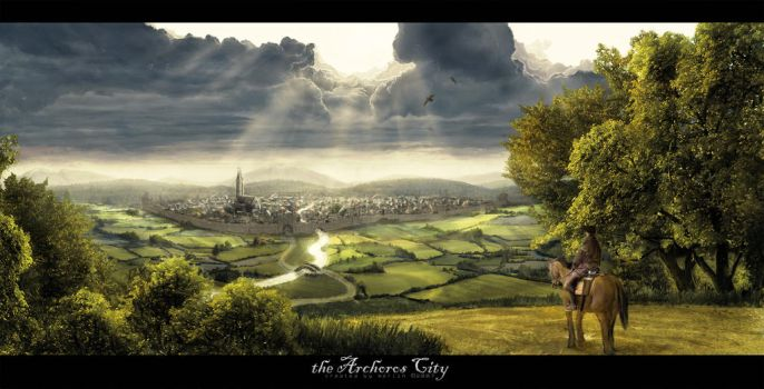 the Archoros City by merl1ncz