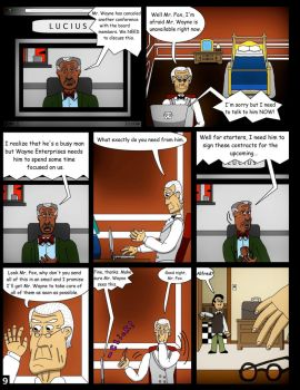 Alfred's Knight Page 9 by clinteast