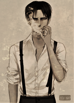 Lights Levi X Insane Reader By Greystream On Deviantart