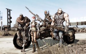 Borderlands - The Cast by Warma