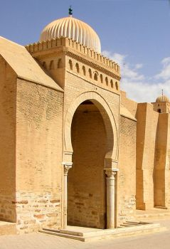 Mosque of Uqba fragment by citrina