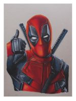 Deadpool ( Movie) by ARTIEFISHEL79