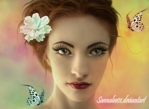 Pure Beauty by Sannalee01