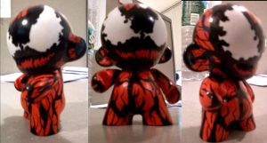 Munny Carnage by Dominican-Franklyn