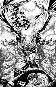 Spawn  INKS by caananwhite