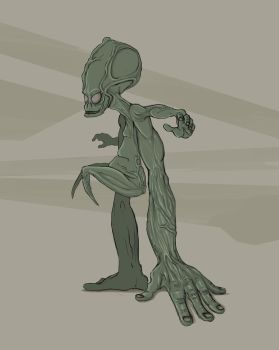 Humanoid Concept by dfgaandy