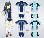 Saikouchou Uniform (P.E.) by okamaka