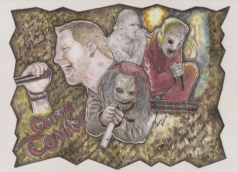 Corey Taylor by jean86SSdesigner