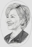 Hillary Clinton by rhunel