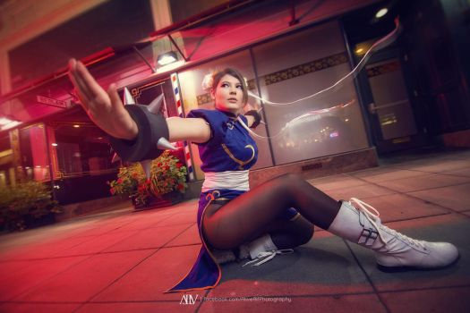 Strongest Woman in the World - Street Fighter by PijoGenjo