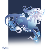 Dec 19 .Glacial Unicorn. by Mythka