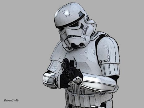 Stormtrooper - work in progress by Rebus1746