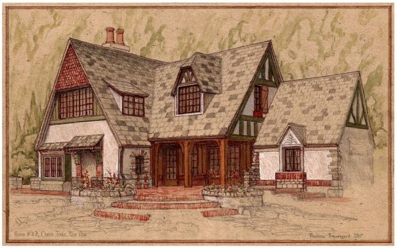 House #31 A Classic Tudor by Built4ever