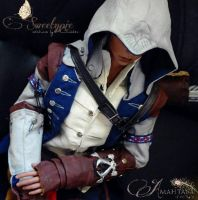 Soom Chalco as Connor Kenway by Atelier-Cynamon