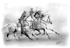 cavalry by silvena