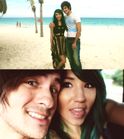 Anthony and Kalel in Mexico~ by usernamesarecool