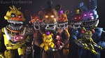 We All Are Still Your Friends (FNAF SFM Wallpaper) by Kana-The-Drifter