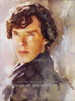 Sherlock - I can not think of a title... by AuroraWienhold