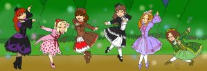 Six Lolita Princesses by MuseWhimsy