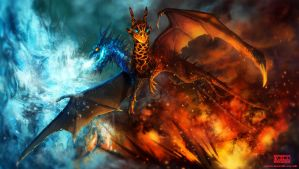A Song of Fire and Ice by kovah