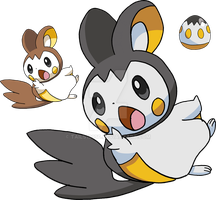 587 - Emolga - Art v.2 by Tails19950