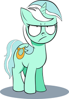 Lyra Heartstrings is not amused by Ylthin96