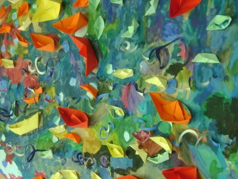 Paper Boats by ivon4